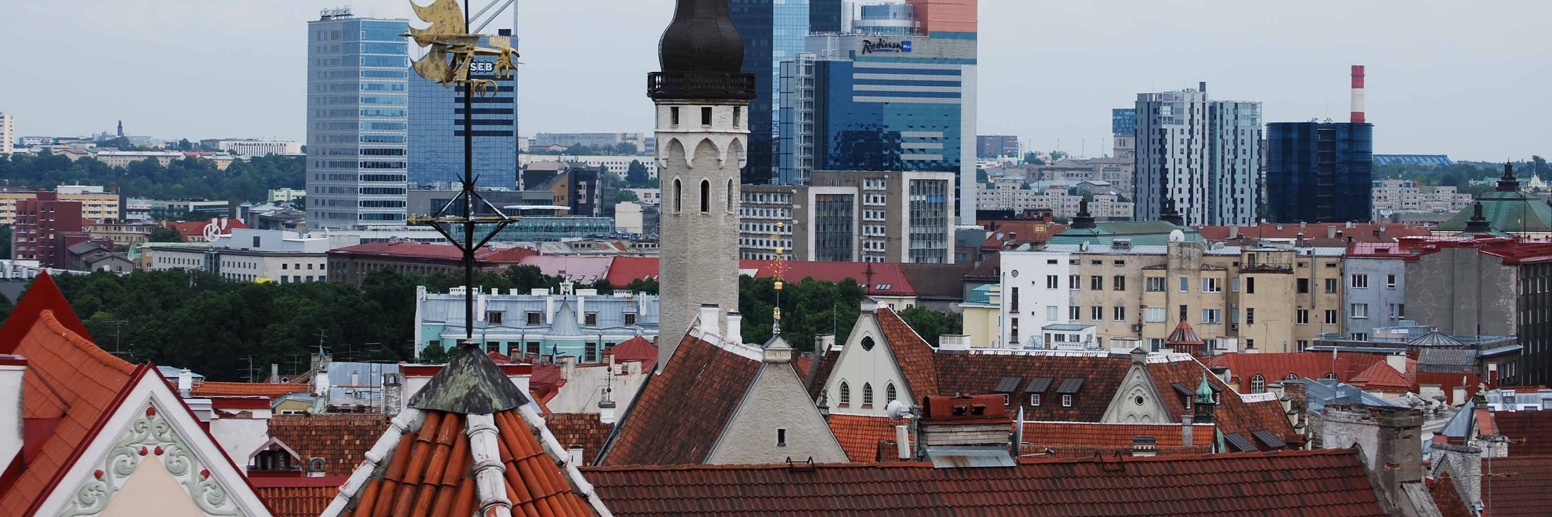 Downtown Tallinn, Estonia