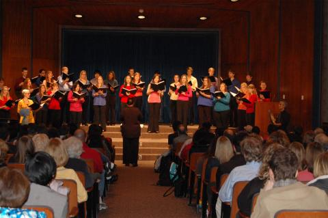 The Ensemble performing