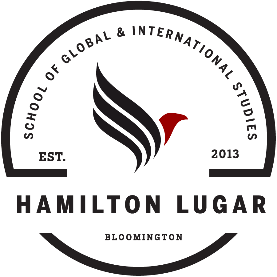 Image of sticker for the Hamilton Lugar School of Global and International Studies
