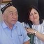 Gulnisa Nazarova with an interviewee